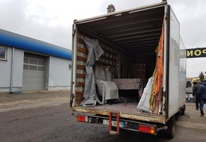 Furniture removals to Hungary