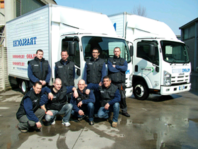 Van hire to Germany from UK