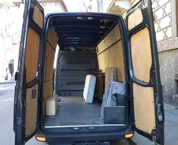 Cheap man and van to Italy