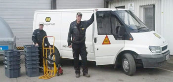 Removal van hire to Norway